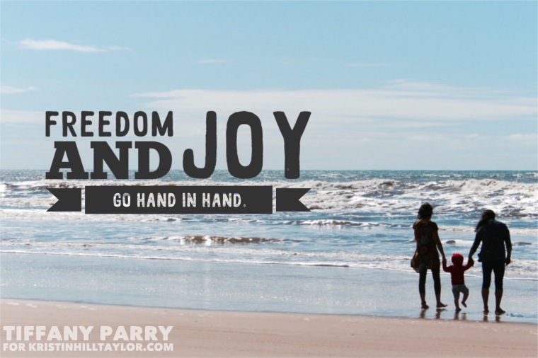 Joy in Freedom (A Guest Post) http://bit.ly/1t1WjfV #threewordwednesday