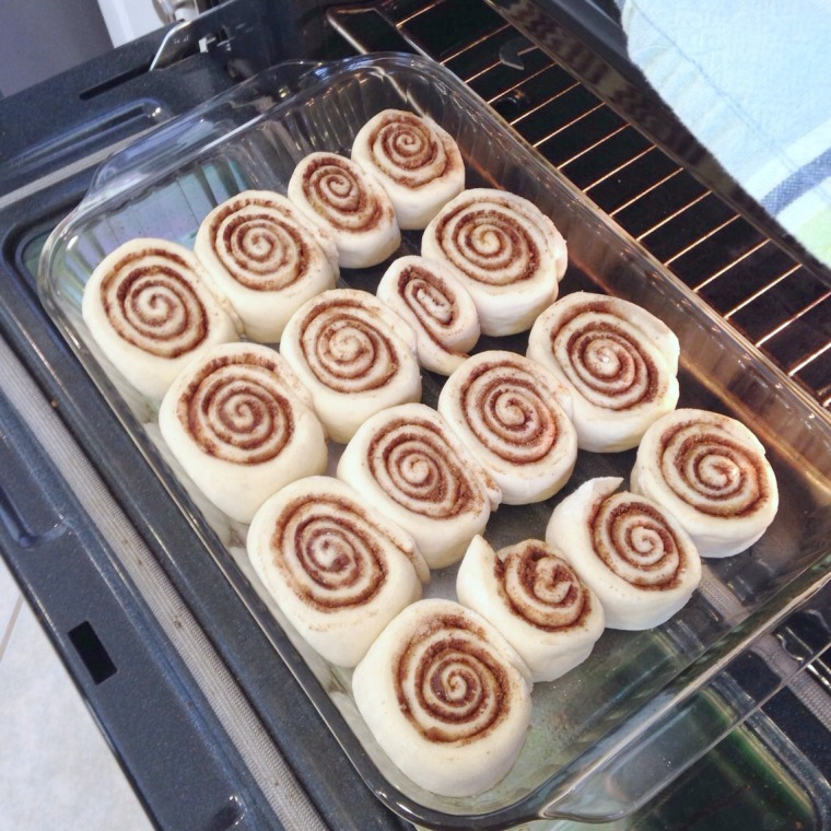 Cinnamon Rolls from Scratch {www.simplyforone.net} http://wp.me/p2v8DX-KV