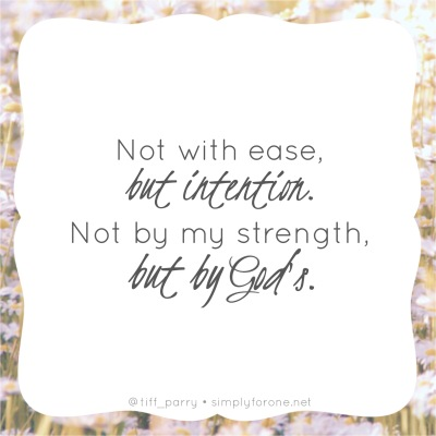 Not By My Strength {www.simplyforone.net} http://wp.me/p2v8DX-Mg