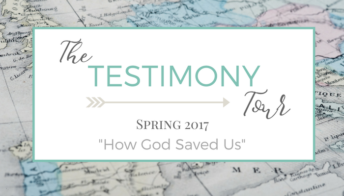 The Testimony Tour: 10 Testimonies in 5 days!