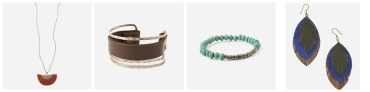Assortment of the beautiful Noonday Collection Spring Line {www.noondaycollection.com}